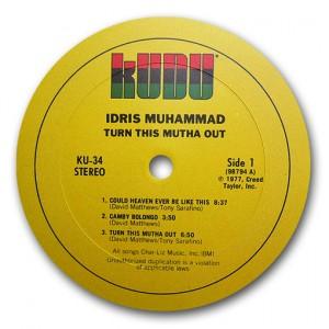 MUHAMMAD Idris Rondelle