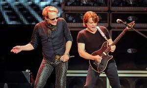 Van Halen Performs At The MGM Grand Garden Arena