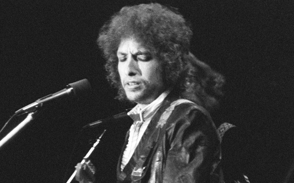 Bob Dylan au Pavillon de Paris 1978