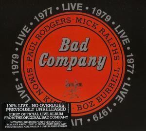 BAD COMPANY Live Pochette
