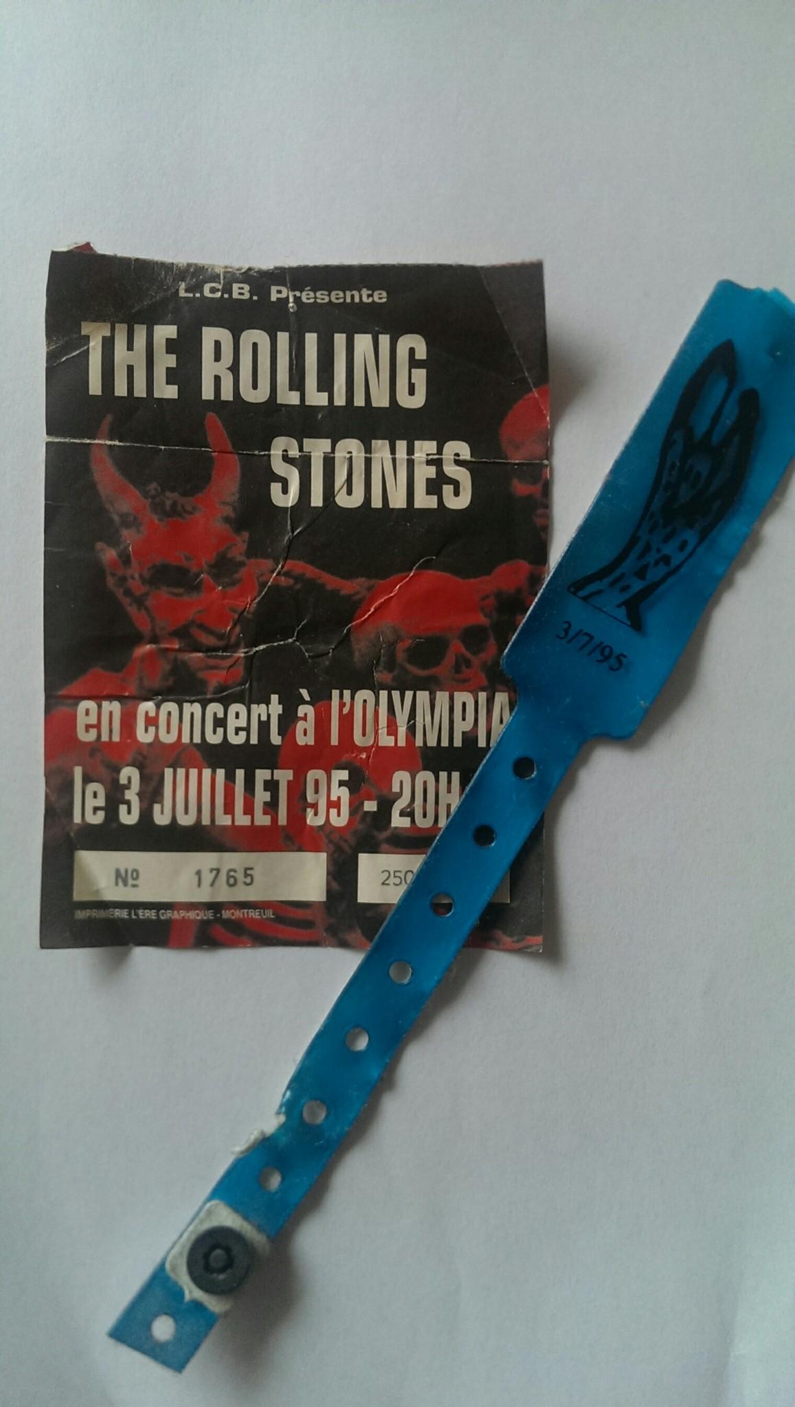 Stones Olympia 1995