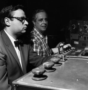 Rudy Van Gelder et Alfred Lion (photo Blue Note)