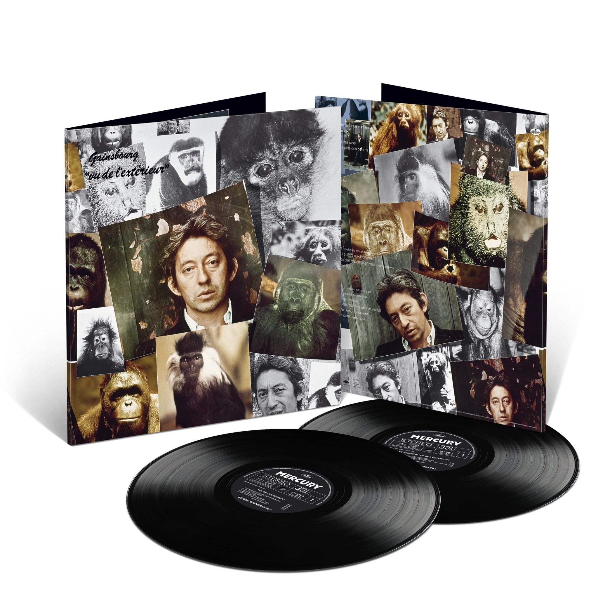 Gainsbourg en 33 tours vos platines et caetera muziq for Gainsbourg vu de l exterieur