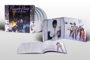 PRINCE PURPLE RAIN Pochette 3 CD 1 DVD
