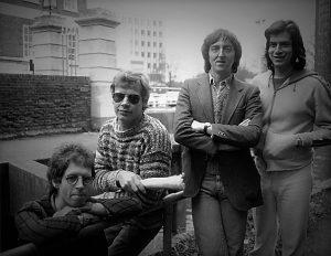 Dave Stewart, Guillaume Bruford, Allan Holdsworth et Jeff Berlin