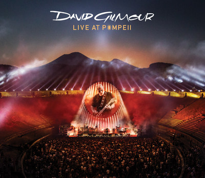 DAVID GILMOUR - LIVE AT POMPEII 2xCD, BLU-RAY, 2xDVD, BLU-RAY + CD DELUXE EDITION BOXSET, 4xLP BOXSET, HD DIGITAL DOWNLOADS TO BE RELEASED ON COLUMBIA RECORDS ON SEPTEMBER 29, 2017 (PRNewsfoto/Columbia Records)