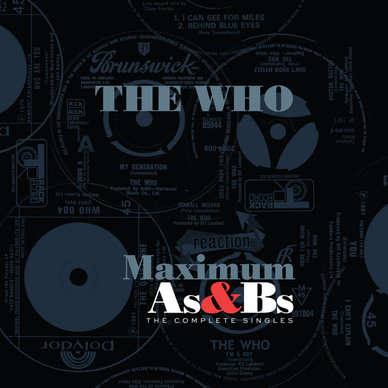 The Who as & Bs