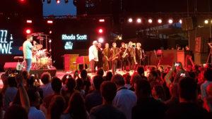 Marcus Miller MC du soir avec Bernard Purdie, invité spécial du Lady Quartet de Rhoda Scott