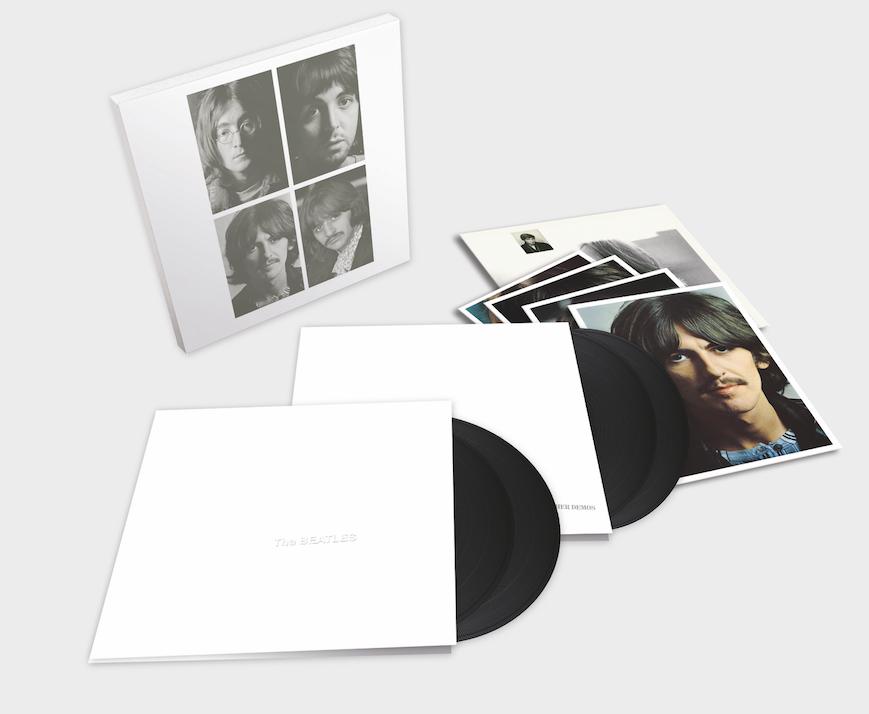 Beatles White album 4LPs