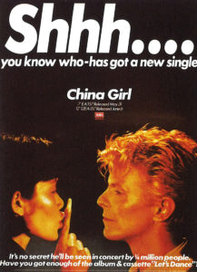 BOWIE COFFRET China Girl