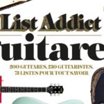 List Addict Guitares, le livre branché sur 220
