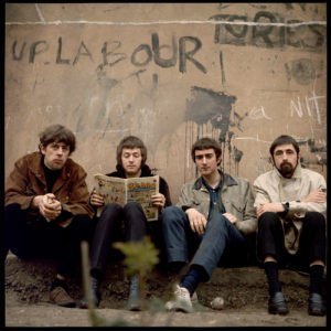 Les Blues Breakers : John Mayall, Eric Clapton, John McVie et Hughie Flint