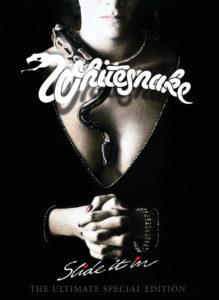 WHITESNAKE SLIDE IT IN Coffret