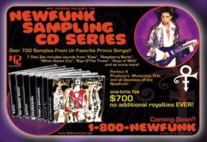 """Détail amusant : dans la nouvelle édition DVD, la petite réclame pour le coffret CD """"NewFunk Sampling Series"""" (700 samples pour 700 $), finalement jamais sorti, a évidemment été surpprimé..."""