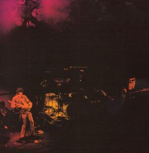 The Band Of Gypsys de gauche à droite : Jimi Hendrix, Buddy Miles et Billy Cox.