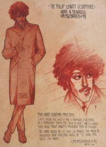 L'une des quatre art prints illustrées par Jim Fitzpatrick.