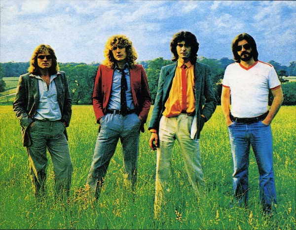 Led Zeppelin 1979 photo credit Mythgem Ltd