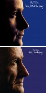 Au Phil du temps : la pochette originale de 1982 et son remake de 2016 : si senior !