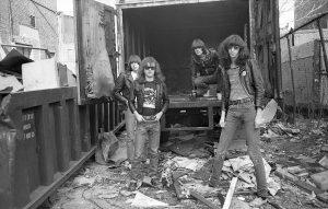 Les Ramones, beaux comme un camion. (Collection Danny Fields)
