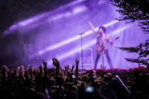 Prince au Danish Music Festival de Skanderborg en 2013. Photo : PYMCA/UIG via Getty Images