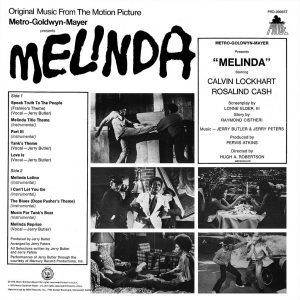 MELINDA Verso