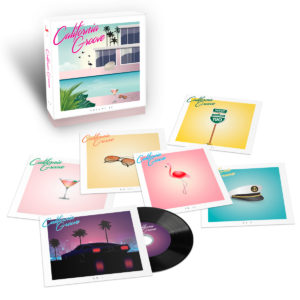 CALIFORNIA GROOVE Pochette Nature Morte