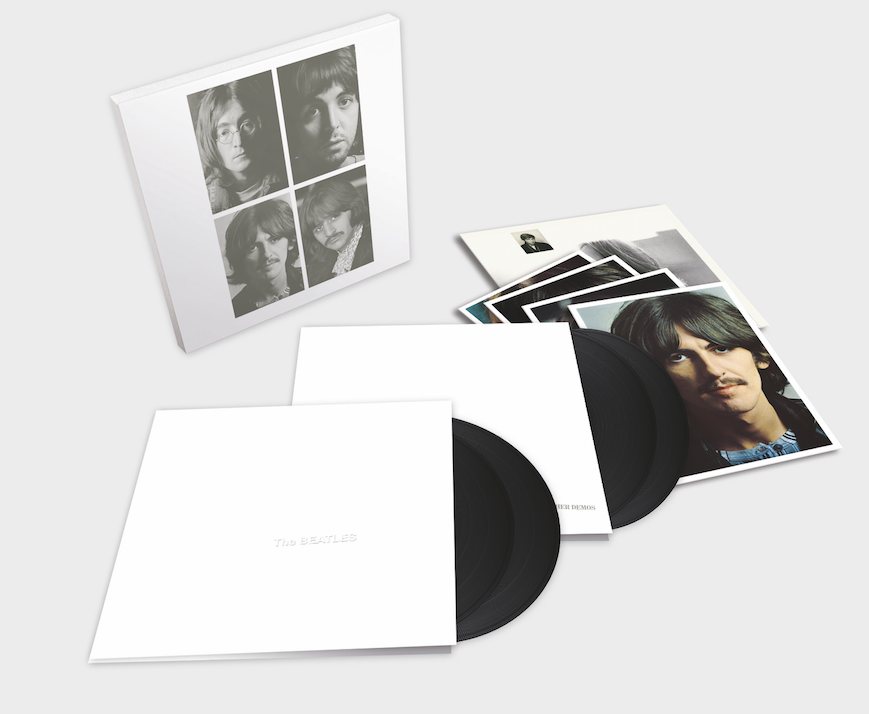 Beatles White album 4LPs