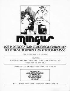 MINGUS STRATA Flyer