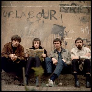 Les Blues Breakers : John Mayall, Eric Clapton, John McVie et Hughie Flint