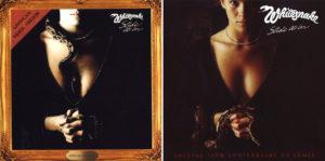 "À ma gauche, la pochette originale de l'""American Remix Version"" de ""Slide it in"". À ma droite, celle de la version ""Special 35th Anniversary US Remix""."