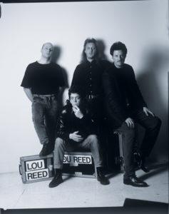 Robert Medici (batterie), Lou Reed (chant, guitare électrique), Mike Rathke (guitare électrique) et Rob Wasserman (contrebasse électrique).